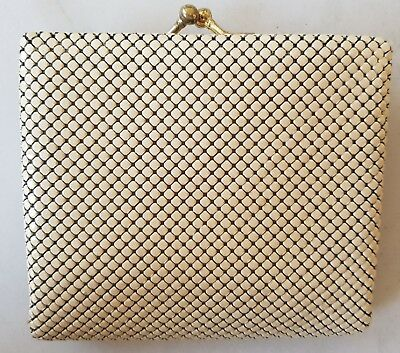 Genuine GLOMESH PURSE / WALLET * In Box Without Tags * NEVER USED * Bone Colour