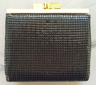 Genuine GLOMESH PURSE / WALLET * In Box Without Tags * NEVER USED * Black Colour