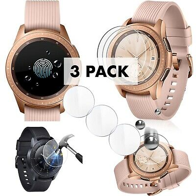 Samsung Galaxy Watch Screen Protector Tempered Glass 3 PACK 42mm
