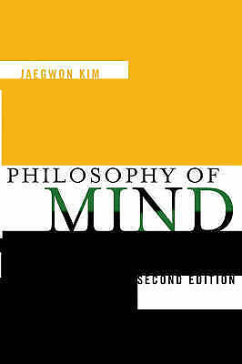 The Philosophy of Mind by Jaegwon Kim (Paperback, 2005)