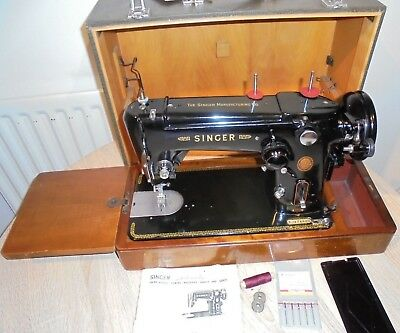 Singer 306K Semi Industrial Zigzag Freehand Embroidery Sewing Machine