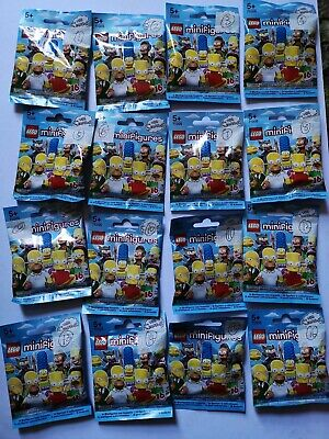 Lego 71005 The Simpsons Series 1 Set Complete 16 Minifigs **Brand New & Retired*