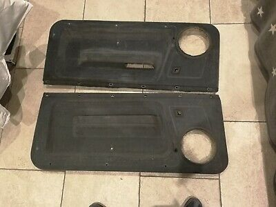 Renualt 5 Gt Turbo Origanal Door Cards
