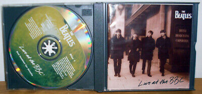 CD DOPPIO The Beatles Live at the BBC 1994 - 7243 8 31796 2 6 - MONO  - Booklet