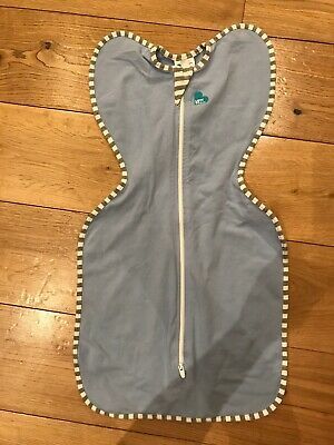 Love To Dream Blue Swaddle Small 1 Tog. Never Used. Very Good Condition