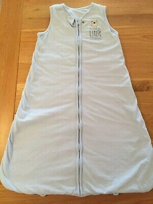Baby Boys Sleeping Bag Blue & White. 6-12 Months. Excellent Condition.