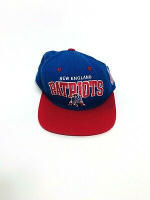 New England Patriots NFL Mitchell AND Ness Vintage Snapback 2-Tone Cap Hat 4f596aee1