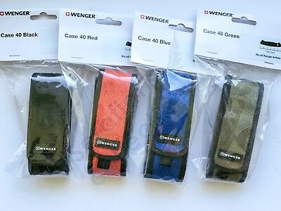 Discontinued Wenger Nylon Pouch for 130 mm Swiss Army Folding Knife