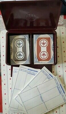 Antique/Vintage Double Playing Cards Set