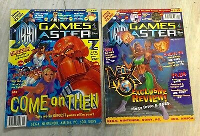 GAMES MASTER MAGAZINE - 2 Issues-Sega Nintendo Magazine - Issues 34 And 30