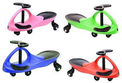 New Swing Car Ride On Swivel Scooter Childrens Toy Kids Wiggle Gyro Twist & Go