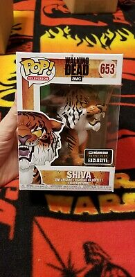 THE WALKING DEAD Shiva Funko Pop From TWD Supply Drop Box Exclusive