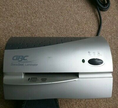 GBC DS 40P A5 DOCUSEAL LAMINATOR Hot and Cold