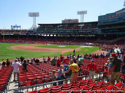 2 Tickets Toronto Blue Jays @ Boston Red Sox 4/11/19 Fenway Park Boston, MA