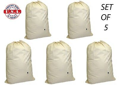 5 Nylon Laundry Bags WHOLESALE Heavy Duty Extra Large 30 x 40 COMMERCIAL