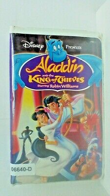 VHS Video ALADDIN and the KING of THIEVES animated 07 TITLE Actor