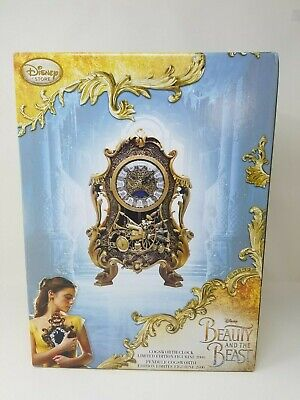 Disney Beauty and the Beast Live Action Cogsworth Clock Limited Edition New