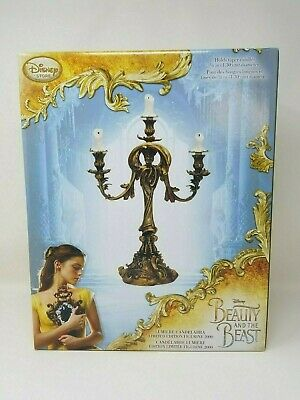Disney Beauty and the Beast Live Action Lumiere Candelabra Limited Edition New