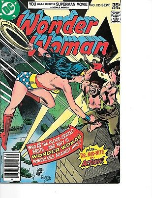 Wonder Woman #235 (1977) (DC Comics) VF/NM app. Dr. Mid-Nite 30% off Guide!