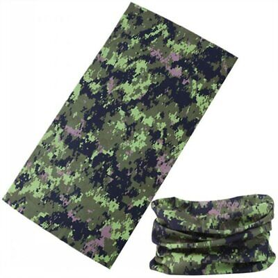 Magic Polyester Camoufalge Bandana Microfiber Headwear Seamless Tubular hijab