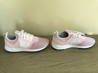ed51ab3673b7 NIB Women s New Balance For J. Crew 247 Sneakers Shoes Size 8 Pink NEW