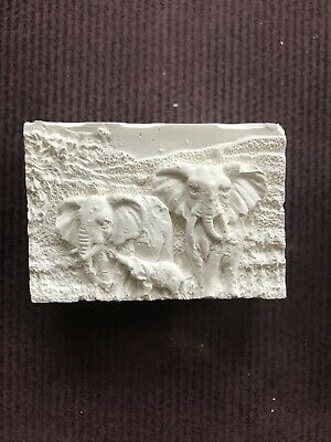 Latex Mould for making This Unusual 3d Style Elephant Soap