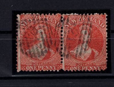 P102153/ New Zealand – Sg # 68 Paire Obl / Used Pair Certificate 785 €