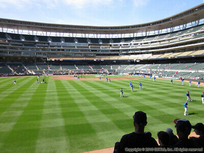 3 Tickets Cleveland Indians @ Minnesota Twins 9/6/19 Minneapolis, MN