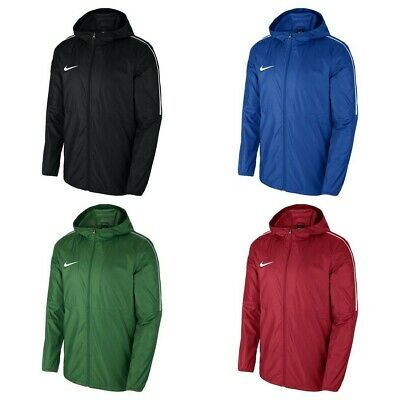 Nike Boys Rain Jacket Football Junior Waterproof Coat Kids Hoodie Windproof S-XL