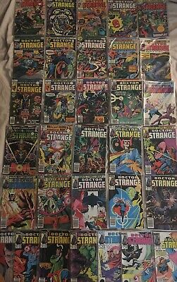 DOCTOR STRANGE BRONZE/COPPER LOT MARVEL COMICS 32 Issues FN to NM no Reserve 99c