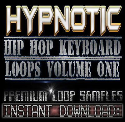 HYPNOTIC PIANO,RHODES,SOUNDS WAV LOOP SAMPLES V.1 Hip Hop Akai Reason Fl Studio