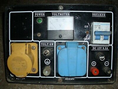 generator control panel distribution board