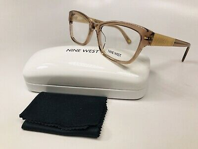 9083ab68fc New Nine West NW5128 264 Crystal Beige Eyeglasses 52mm with Case   Cloth