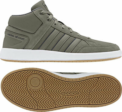 wholesale dealer 634f4 74a90 Scarpe Adidas All Court Mid B43859 Uomo Ginnastica sportive collo alto  beige New