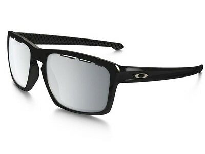 OAKLEY OO9262-4257 Sunglasses Sliver Vented Polished Black ~ Chrome Iridium 57mm