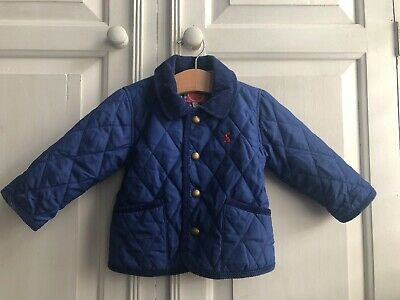 Joules Coat. 6-9 Months. Blue. Bunny. Summer Jacket. Baby Boy.