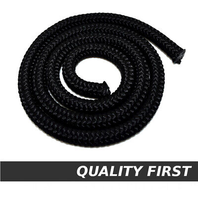 Black Polypropylene Rope Braided Poly Cord Strong Boating Camping Sailing Yacht