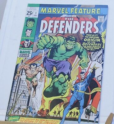 marvel feature presents the defenders #1 1971 key issue and 1st appearance