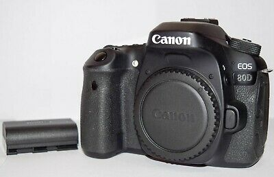 USED CANON EOS 80D 24 2MP Digital SLR Camera - Black (Body Only)