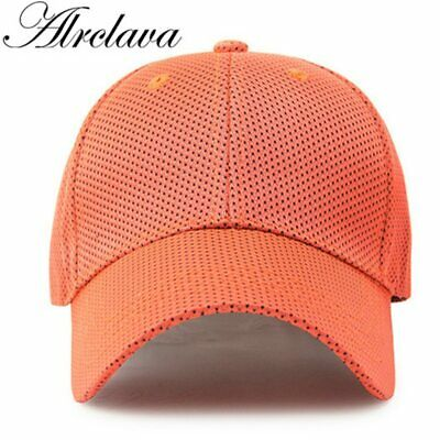 Summer section mesh breathable baseball cap men and women outdoor tourism