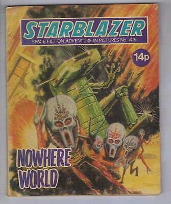 STARBLAZER No.43 - VINTAGE BRITISH COMIC - D C THOMSON 1981