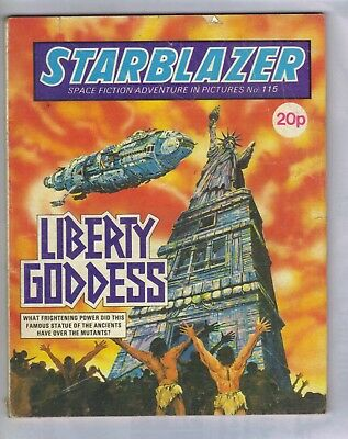 STARBLAZER No.115 - VINTAGE BRITISH COMIC - D C THOMSON 198