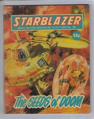 STARBLAZER No.38 - VINTAGE BRITISH COMIC - D C THOMSON 1980