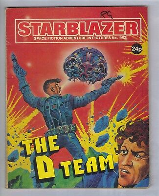 STARBLAZER No.162 - VINTAGE BRITISH COMIC - D C THOMSON 1986