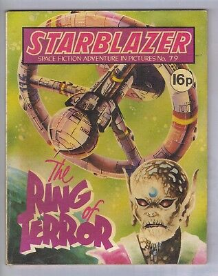 STARBLAZER No.79 - VINTAGE BRITISH COMIC - D C THOMSON 1982