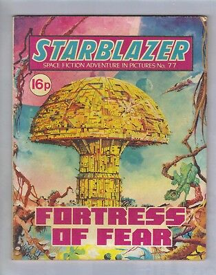 STARBLAZER No.77 - VINTAGE BRITISH COMIC - D C THOMSON 1982