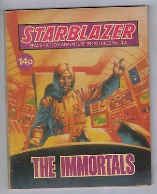 STARBLAZER No.42 - VINTAGE BRITISH COMIC - D C THOMSON 1981