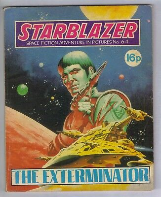 STARBLAZER No.64 - VINTAGE BRITISH COMIC - D C THOMSON 1982