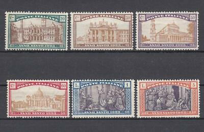 (6072) Italy 1924 Mh Full Set