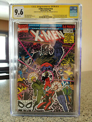 X-Men Annual #14 CGC 9.6 Signed by Stan Lee & Chris Claremont (1st Gambit Cameo)